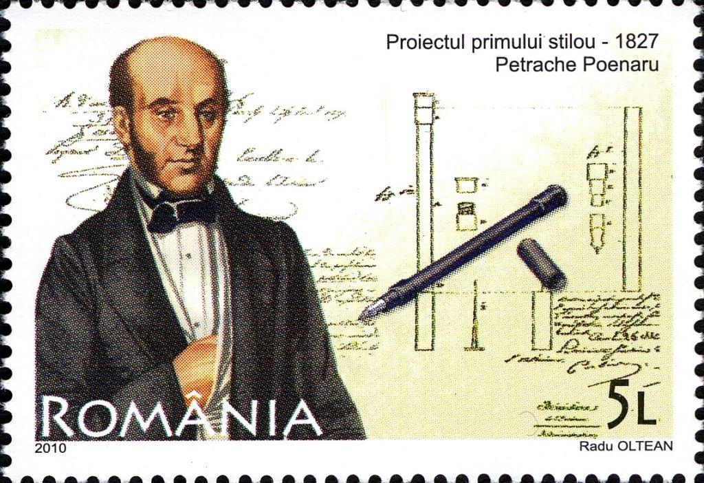 Petrache Poenaru, românul care a inventat stiloul